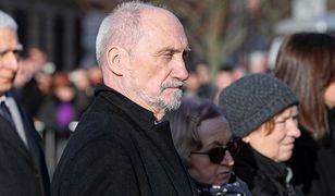 Antoni Macierewicz , były szef MON