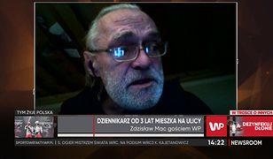 Zdzisław Mac o życiu bezdomnego. Legendarny dziennikarz przeżył trudne chwile
