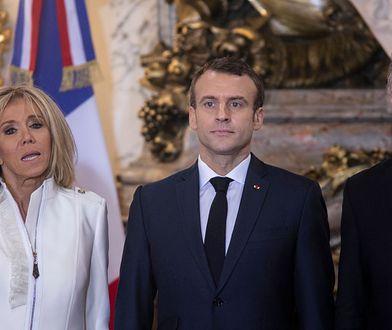 Brigitte Macron cała na biało. Zadała szyku w Argentynie
