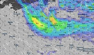 Prognoza pogody. We wtorek strefa opadów obejmie dużą część Polski