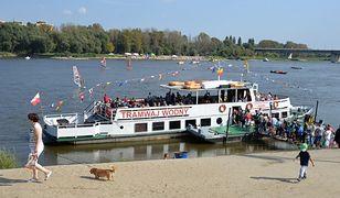 Statki, promy i tramwaje wodne. Rusza sezon na Wiśle