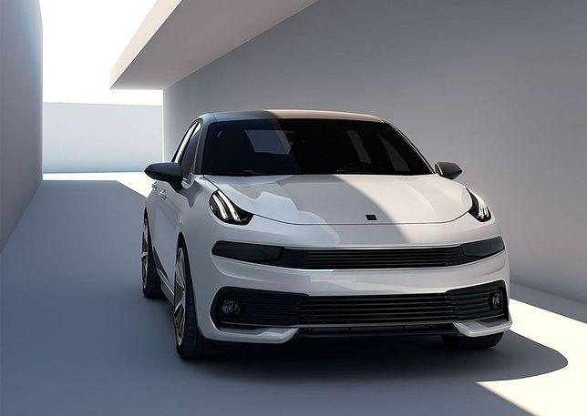 Lync & Co prezentuje futurystycznego sedana