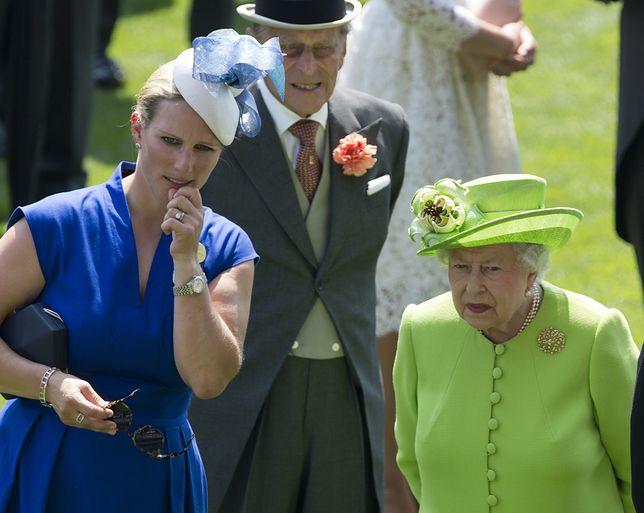Zara Tindall nie jest ostatnio powodem do dumy dla królowej