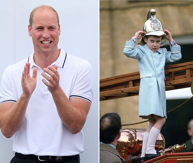 Książę William w dzieciństwie bawił się w strażaka na oczach całego narodu