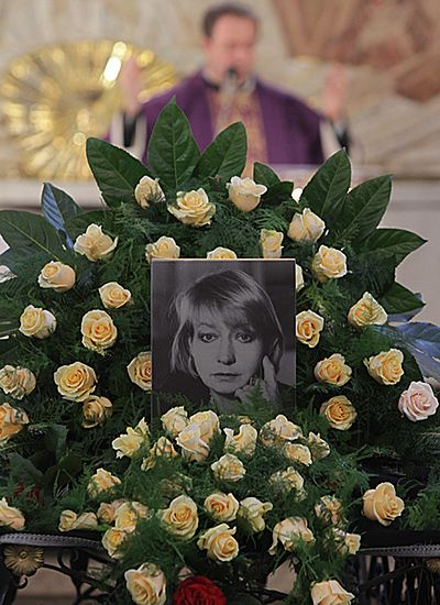 Ostatnia droga Elżbiety Czyżewskiej - zobacz zdjęcia
