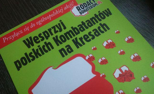 """WP: Kolejna akcja paczki dla polskich kombatantów. """"Dla nich najważniejsze jest, by pamiętać"""""""