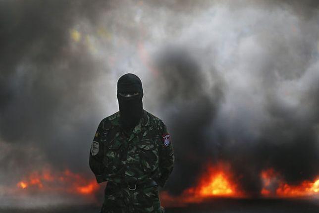 """Prawy Sektor twierdzi, że sprawcy eksplozji mogą działać albo na zlecenie Rosji, albo władz w Kijowie lub nieokreślonej """"piątej kolumny"""""""