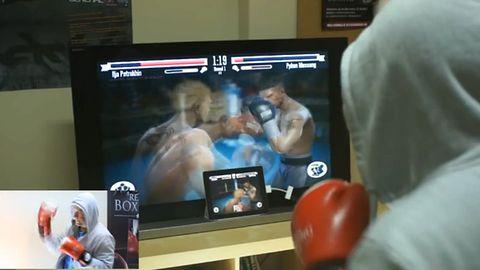 Jeśli ktoś będzie miał ochotę, to w Real Boxing można grać bez dotykania iPada