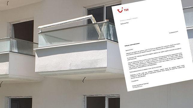 """Spędzili urlop na placu budowy. TUI proponuje 500 zł """"zadośćuczynienia"""""""