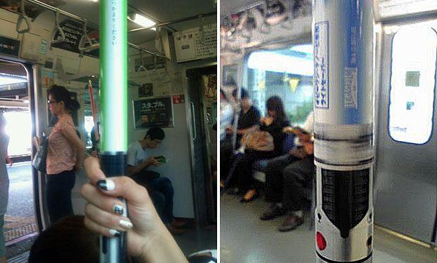 Miecze świetlne w metrze