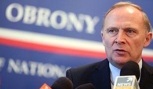 Czesław Mroczek powiedział, że PO domaga się zawieszenia szefa MON