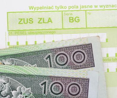 Zasiłki chorobowe w ZUS. Rekordzistka pobrała 40 tys. złotych za miesiąc choroby