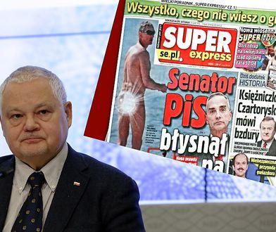 """Prezes NBP wbił szpilę senatorowi PiS. """"Skłonność do jawności, nawet na plaży"""""""