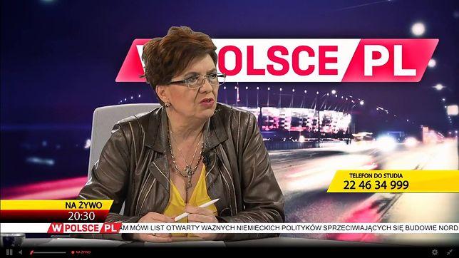 Od skrajnej lewicy do programu w prawicowej TV. Historia Jakubowskiej