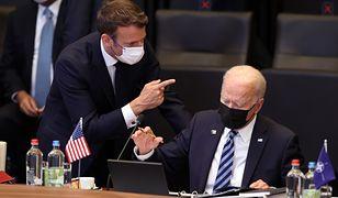 Francja reaguję na umowę między USA, Australią i Wielką Brytanią