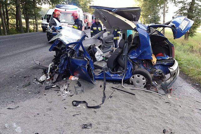 Wypadek utrudnił ruch na trasie Gdańsk-Szczecin, między Koszalinem i Karlinem