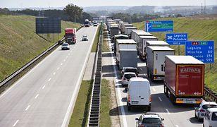 Wrocław. Wypadek na autostradzie A4 (zdj. arch.)