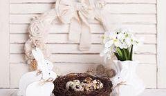 Jak pomysłowo udekorować dom na Wielkanoc?