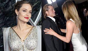 Brad Pitt zażartował z Angeliny Jolie