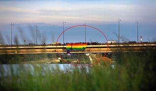 Most Łazienkowski. Akcja dla Milo Mazurkiewicz