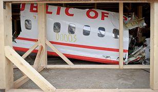 Szczątki prezydenckiego Tu-154M od lat magazynowane są na terenie lotniska Siewiernyj