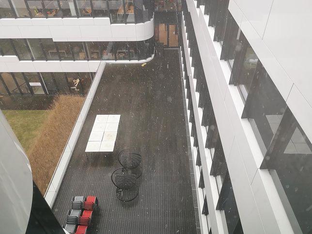 Śnieg w Warszawie. Pogoda nie zapowiada nadejścia zimy
