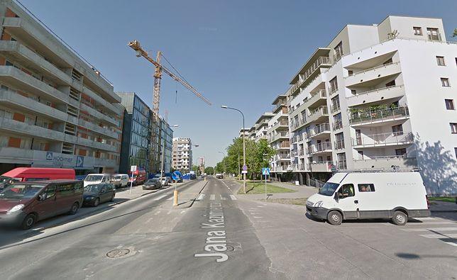 """Ulica Jana Kazimierza - """"kręgosłup"""" osiedla Odolany na Woli"""