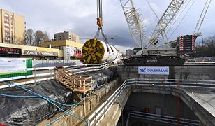 Warszawa. Na budowie metra znaleziono niewybuch