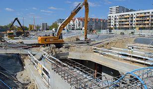 Warszawa. Na budowie II linii metra na Bemowie wmurowano kamień węgielny