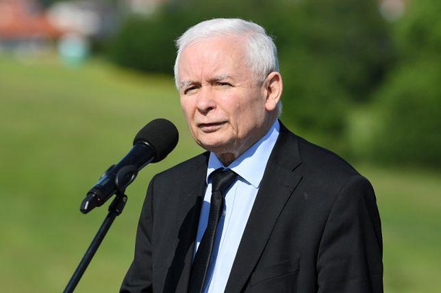 Kampania w Rzeszowie. Wicepremier Jarosław Kaczyński na konferencji prasowej pomylił Rzeszów ze stolicą Pomorza Zachodniego