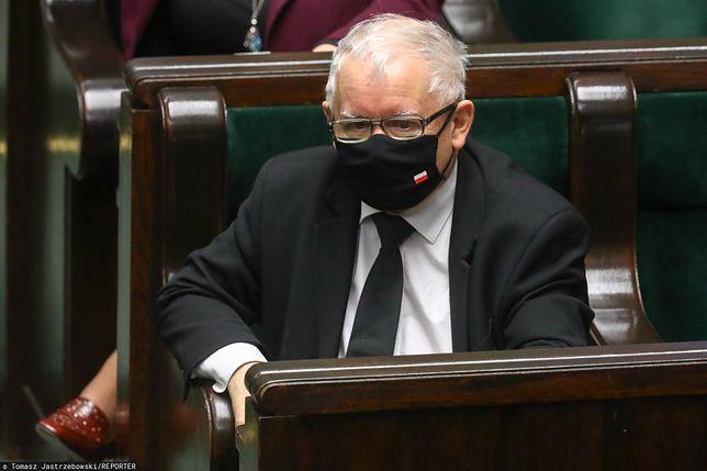 Najnowszy sondaż dla WP. Jarosław Kaczyński nadal bez większości w Sejmie (zdj. arch.)