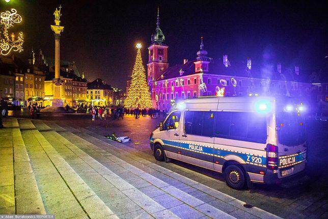 Policja ma wręczać mandaty za złamanie obostrzeń w noc sylwestrową