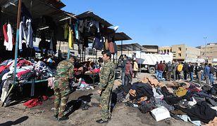 Bagdad. Zamach bombowy w tłumie. Prawie 30 ofiar