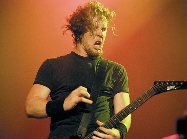 James Hatfield (Metallica) w 1999 roku