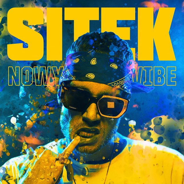 "okładka albumu Sitka ""Nowy vibe"""