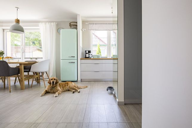 """Stylizowane na """"stare"""" lodówki pasują też do nowoczesnych, modnych kuchni"""
