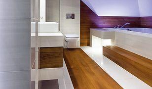 Drewno w łazience. Czy to możliwe?