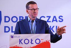 Premier Mateusz Morawiecki obiecał obwodnicę. Mieszkańcy miasteczka rozżaleni