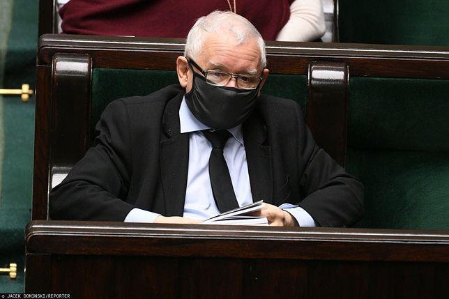 Koronawirus w Polsce. Jarosław Kaczyński o zakupie respiratorów