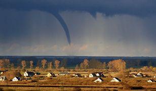 Pogoda. Wyglądała jak tornado. Niezwykłe i rzadkie zjawisko nad Bałtykiem