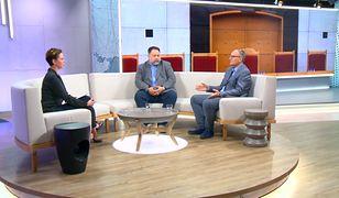 """Małgorzata Serafin (Telewizja WP), Marcin Celiński (""""Liberte""""), Paweł Lisicki (""""Do Rzeczy"""")"""