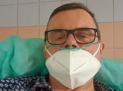 Jerzy Polaczek dodał zdjęćie ze szpitala