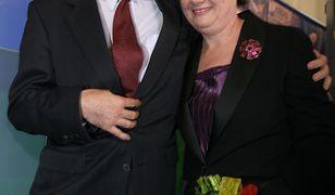 Hanna Gronkiewicz-Waltz dziękuje mężowi