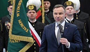 Prezydent Andrzej Duda obiecywał w Brzeszczach obronę polskiego górnictwa