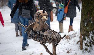 Rzeźba Wróbelka Ćwirka
