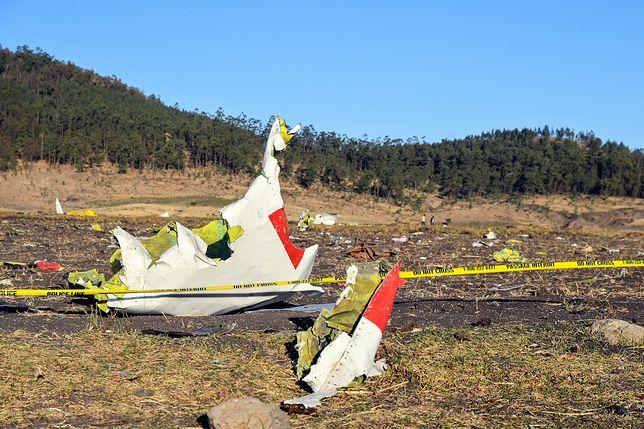 Rozbity samolot należał do linii Ethiopian Airlines