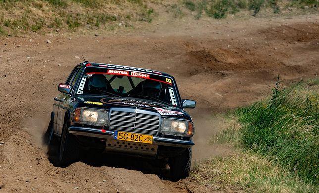 Tak stare samochody doskonale radziły sobie na trudnych rajdowych trasach HRSMP