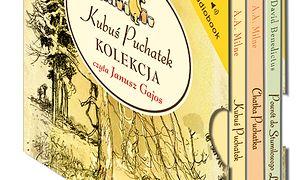 Kubuś Puchatek. Zestaw Kubuś Puchatek 3 płyt CD. Kubuś Puchatek, Chatka Puchatka, Powrót do Stumilowego Lasu