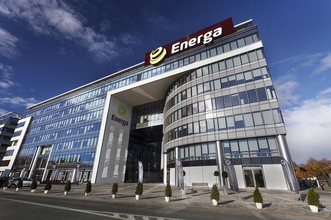 Siedziba Energi, dystrybutora i dostawcy prądu.