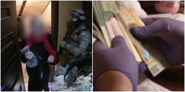 """Ekskluzywna agencja, kokaina i wielkie pieniądze. Policja rozbiła gang """"Czekolindy"""" [WIDEO]"""